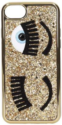 Chiara Ferragni Cover Iphone S6-s7-s8 Flirting Glitter