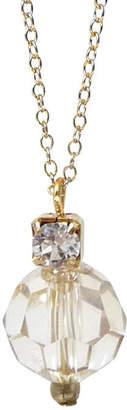 Katherine Swaine Crystal And Rhinestone Pendant Necklace