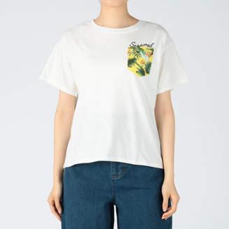 INGNI (イング) - INGNI 柄ポケットTシャツ
