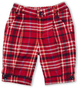 Manuell & Frank Newborn/Infant Boys) Plaid Trousers