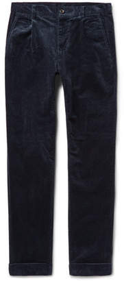 Beams Cotton-Blend Corduroy Trousers