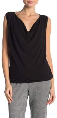 Velvet by Graham & Spencer Connie Chiffon Cowl Neck Top