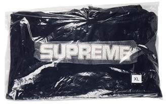 Supreme 2018 Perforated Leather Hooded Sweatshirt w/ Tags