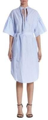 Tome Peasant Cotton Dress