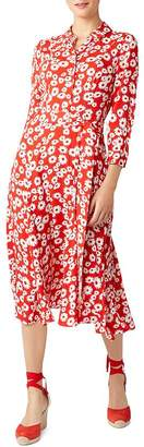 Hobbs London Frederica Floral Shirt Dress