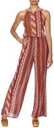 Honey Punch Rust Jumpsuit