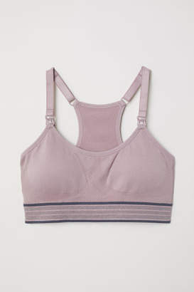 H&M MAMA Nursing Sports Bra - Pink