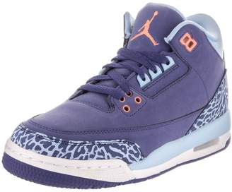 Nike Jordan Air Jordan 3 Retro GS Youth US Purple Sneakers