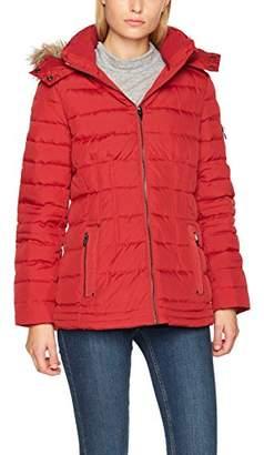 Esprit Women's 097ee1g012 Jacket, (Dark Red 610), Small