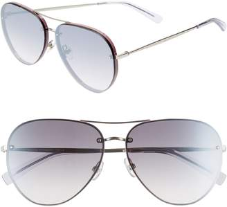 Rebecca Minkoff Gloria2 59mm Aviator Sunglasses