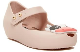 Mini Melissa Mini Ultragirl X Cow Mary Jane Shoe (Toddler) $60 thestylecure.com