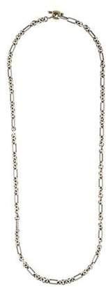 David Yurman Two-Tone Figaro Chain Necklace