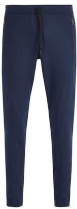 Tomas Maier Zip Hem Fleece Track Pants - Mens - Navy