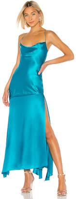 Michael Lo Sordo Caroline Bias Slip Dress