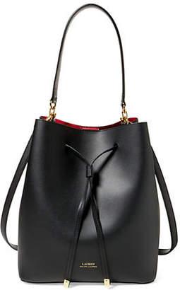 f229367a46 ... cheap at the bay lauren ralph lauren drawstring bucket bag 02b4b b9278