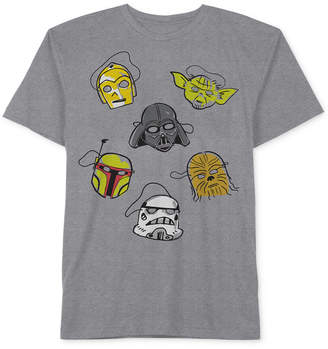 Star Wars Toddler Boys Face Masks Graphic-Print T-Shirt