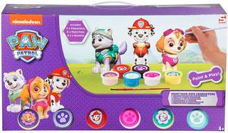 Your Own Paw Patrol Paw Patrol Paint Figures Set - Girls