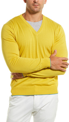 Dunhill Cashmere-Blend Crewneck Sweater
