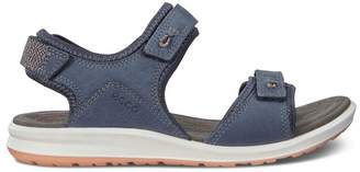 Ecco Womens Blue Active Sandal - Blue