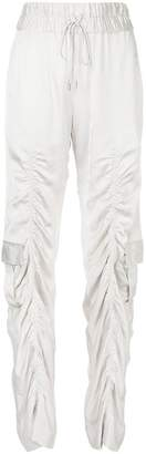Manning Cartell Off duty draped track trousers