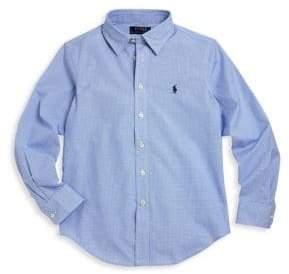 Ralph Lauren Toddler's, Little Boy's& Boy's Lowell Twill Dress Shirt
