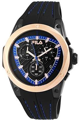 Fila Mens Analogue Quartz Watch with Silicone Strap 38-821-002