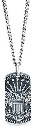 King Baby Studio American Voices Eagle Dog Tag Necklace