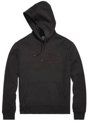 Ralph Lauren Embroidered Double-Knit Hoodie