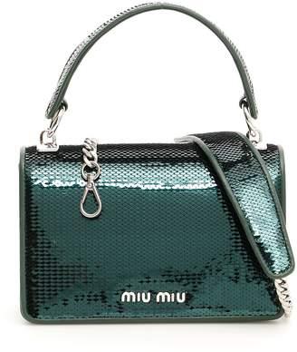 Miu Miu Sequins Midi Crossbody Bag