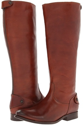 Frye Melissa Button Back Zip Extended $388 thestylecure.com