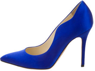 Brian Atwood Satin Besame Pumps $225 thestylecure.com