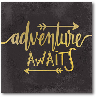 Courtside Market Wall Decor Adventure Awaits I Gallery-Wrapped Canvas Wall Art