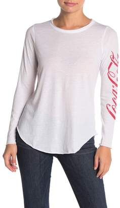 Chaser Coca-Cola Vintage Jersey Long Sleeve T-Shirt