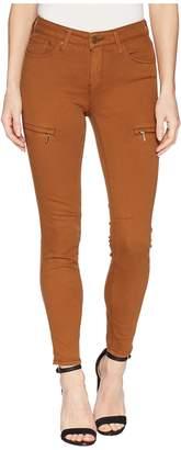 Mavi Jeans Karlina in Bronze Brown Twill Women's Jeans