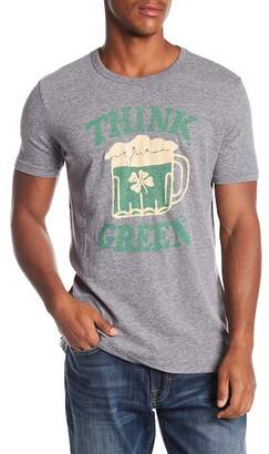 Lucky Brand St Pats Day Green Beer Tee