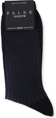 Falke Ribbed cotton shadow socks