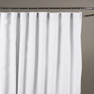 At Wayfair Birch Lane Bernadette Linen Shower Curtain