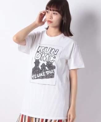 And A (アンド エー) - And A RUN DMC/ラン ディーエムシー ロゴ 半袖プリントTシャツ THE TEE/ザ・ティー