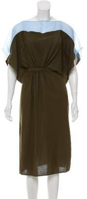 Vionnet Cutout Wool Dress w/ Tags