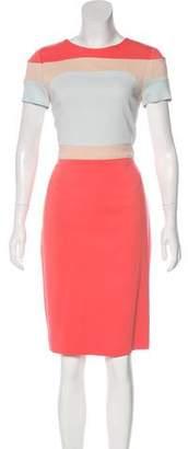Raoul Colorblock Knee-Length Dress