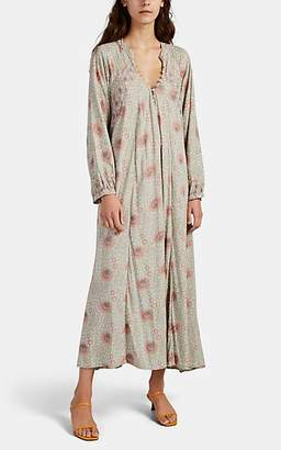 Natalie Martin Women's Fiore Floral Maxi Dress - Gray