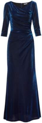 Gina Bacconi Clara Metallic Maxi Dress