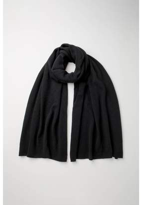 Johnstons of Elgin Black Gauzy Cashmere Stole