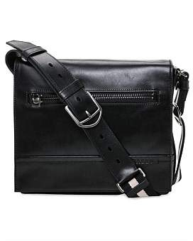 Bally Trainspotting Cross Body Messenger Flap Bag