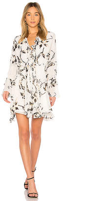 Shona Joy Apparition Frill Collar Mini Dress