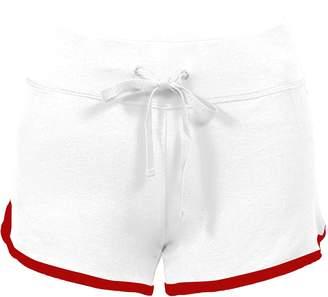 Zity Yoga Running Workout Shorts, Athletic Elastic Waist Short Pants L