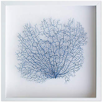 Karen Robertson Exotic Sea Fan - Navy