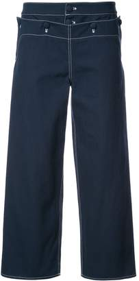 Harvey Faircloth Sailor cropped trousers