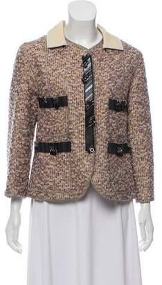 Marc Jacobs Embellished Tweed Jacket