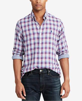 Polo Ralph Lauren Men Classic Fit Plaid Shirt